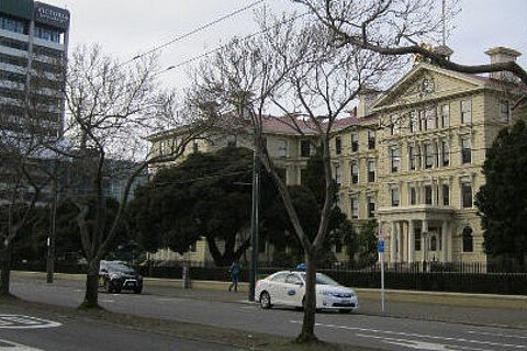 Der Pipitea-Campus der Victoria University of Wellington
