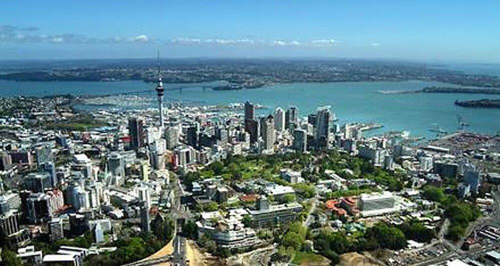 Luftaufnahme von Auckland