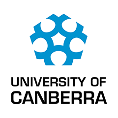 Logo University of Canberra Australien
