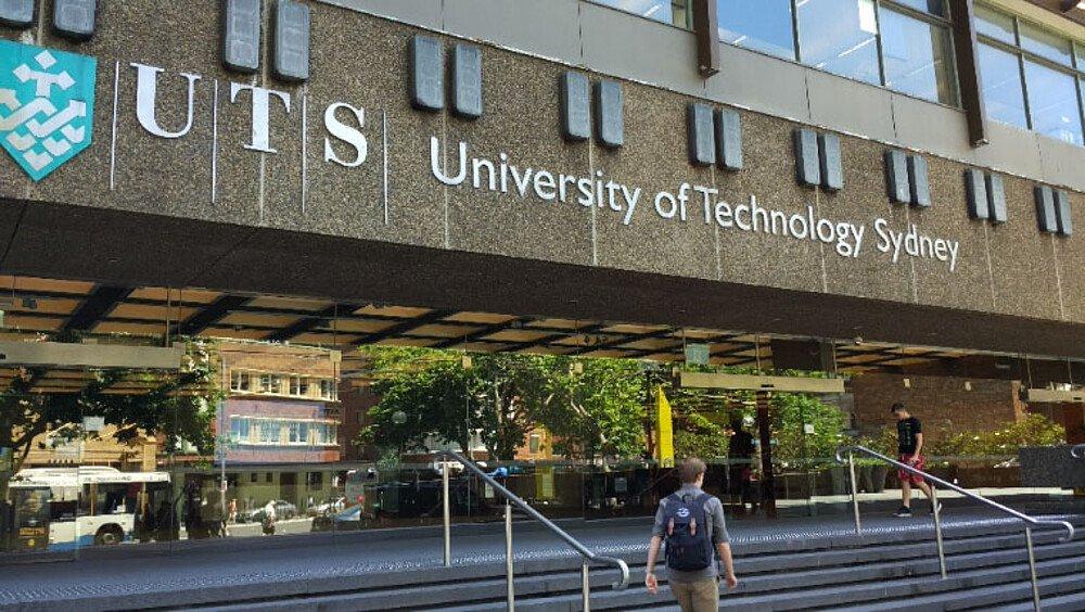 UTS Eingang - Erfahrungsbericht Studium Australien