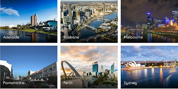 Unsere Informationszentren in Australien