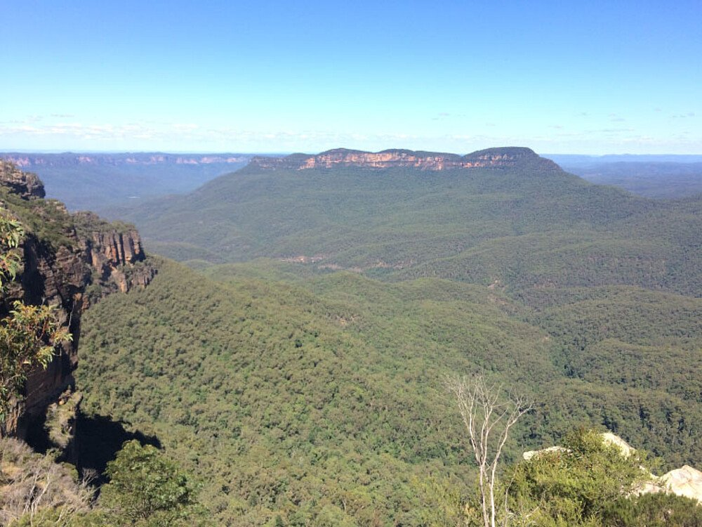 Die Blue Mountains in New South Wales