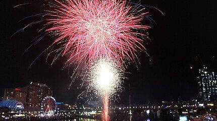 Erfahrungsbericht LL.M. Studium Darling Habour Feuerwerk