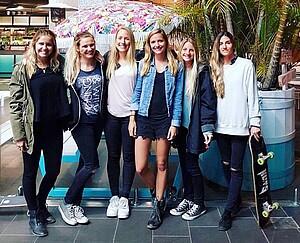 Bachelor Studentinnen in Australien