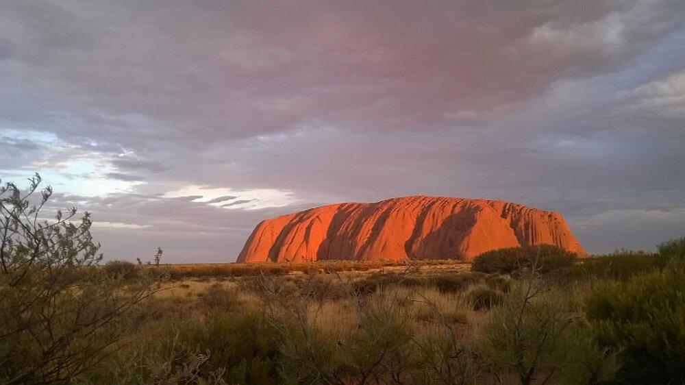 Erfahrungsbericht Studium in Australien Schröder - Uluru