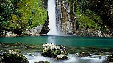 Ein Wasserfall in Australien
