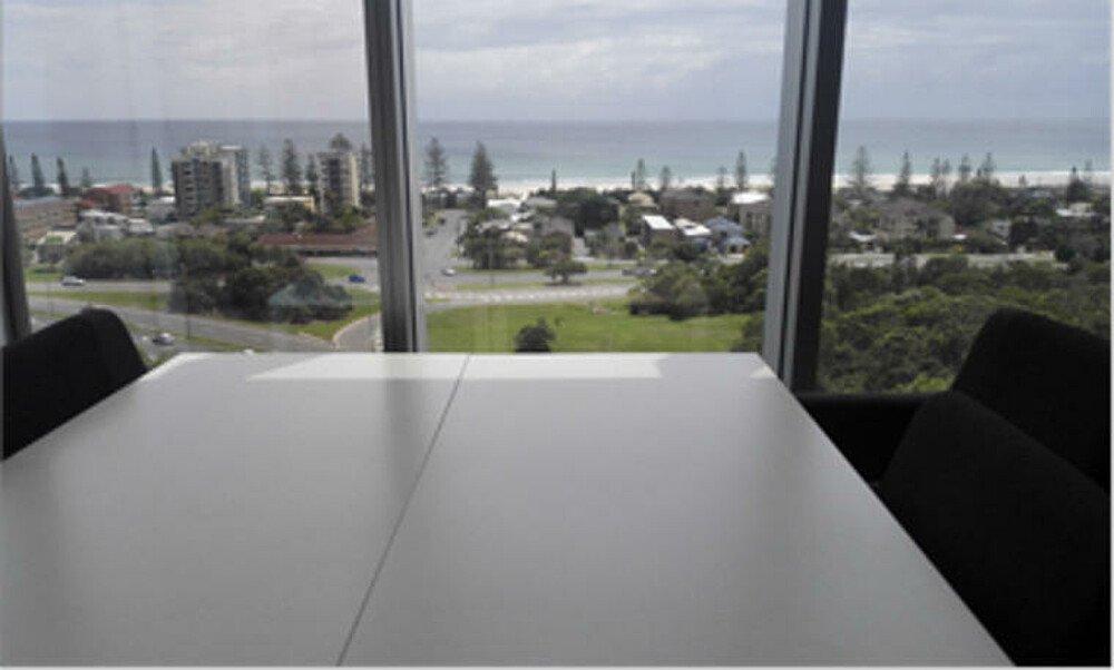 Ausblick aus dem Gebäude B der Southern Cross University