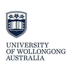 Logo University of Wollongong Australien