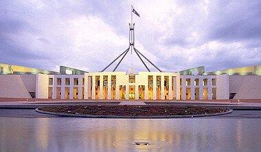 Das neue Parlamentsgebäude