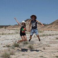 Studenten im Outback