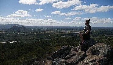 Aussicht von Mount Ngungun