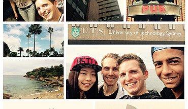 Collage Studium an der University of Technology Sydney