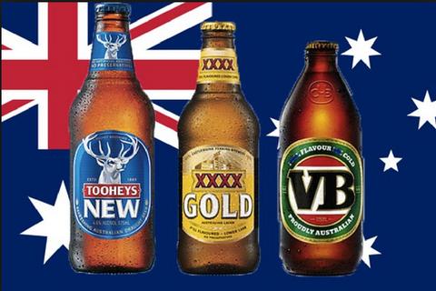verschiedene Biere aus Australien