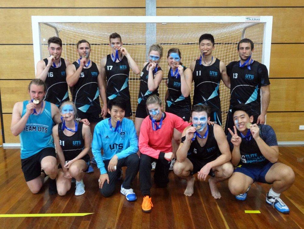 Handballteam - Masterstudium in Australien