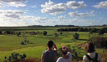 Weites Land in Australien