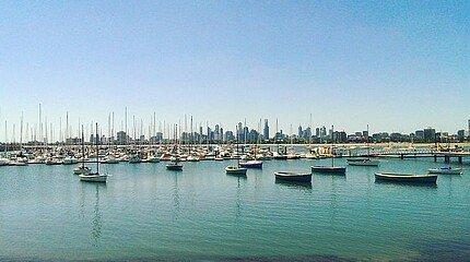 Hafen in Australien