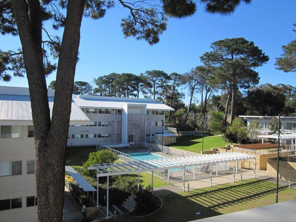 Aussicht Wohnheimzimmer Balkon - Auslandssemester Australien