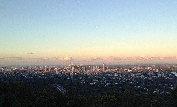 Blick von Mount Coot-tha