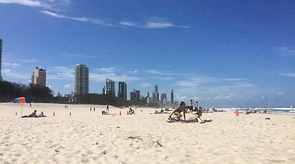 Broadbeach in Queensland, Australien