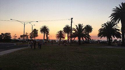 Sunset St. Kilda