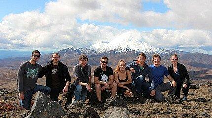 Gruppenfoto Neuseeland