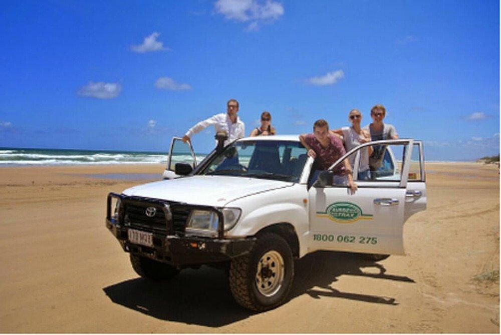 Campingtour auf Fraser Island mit eigenem Jeep