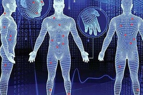 Komplette 3D-Rekonstruktion eines Körpers