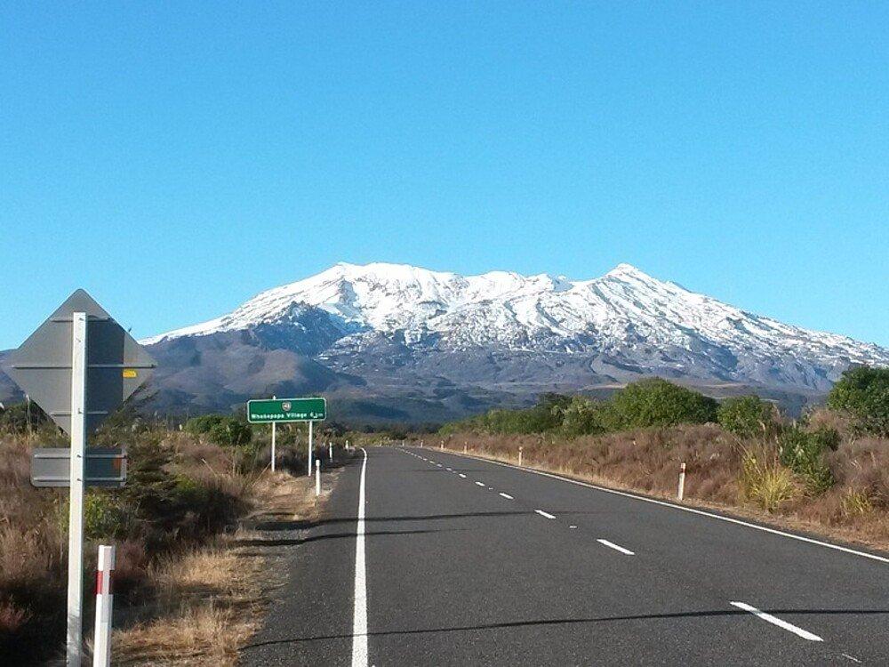 Mt. Ruapehu Studium Neuseeland