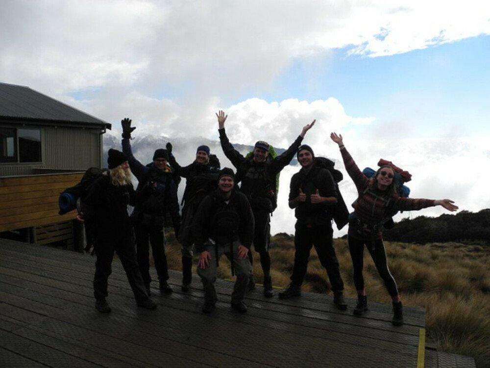 Wandergruppe Neuseeland