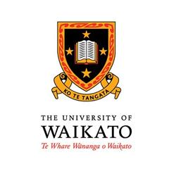 Logo University of Waikato Neuseeland