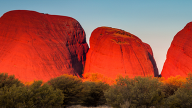 Der heilige Berg Australiens