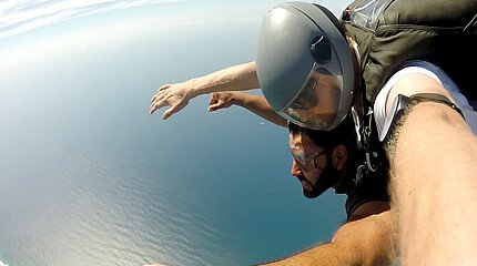 Skydiving in Australien