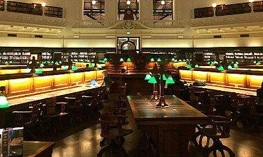 Bücherei in Victoria