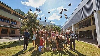 Graduation Ceremony in Australien