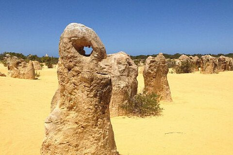 Pinnacles in Westaustralien