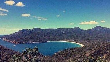Wineglassbay Tasmanien