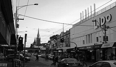 Lido Cinema an der Glenferrie Road
