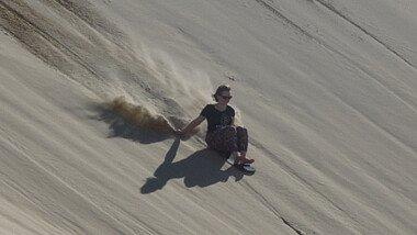 Sandboarden in Australien