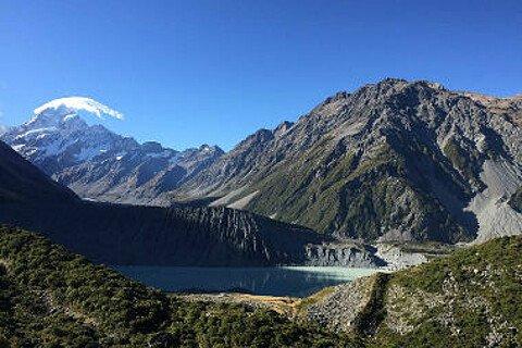 Mount Cook auf der Südinsel Neuseelands
