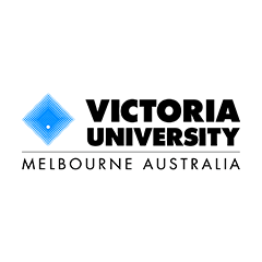 Logo Victoria University Australien