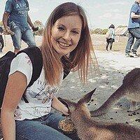 Studentin Studium Australien