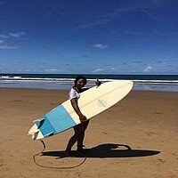 Surfing in Australien