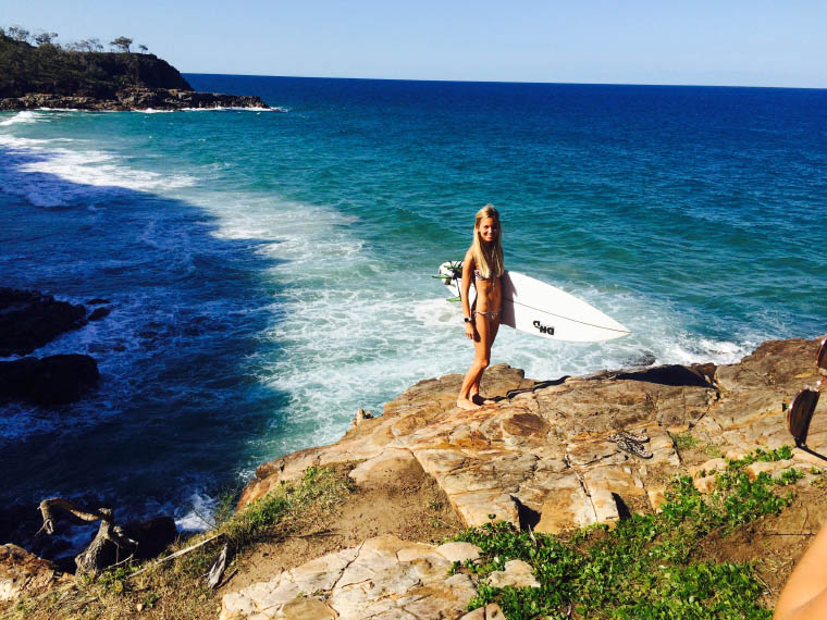 Erfahrungsbericht Auslandssemester Queensland Surfen - Freizeit