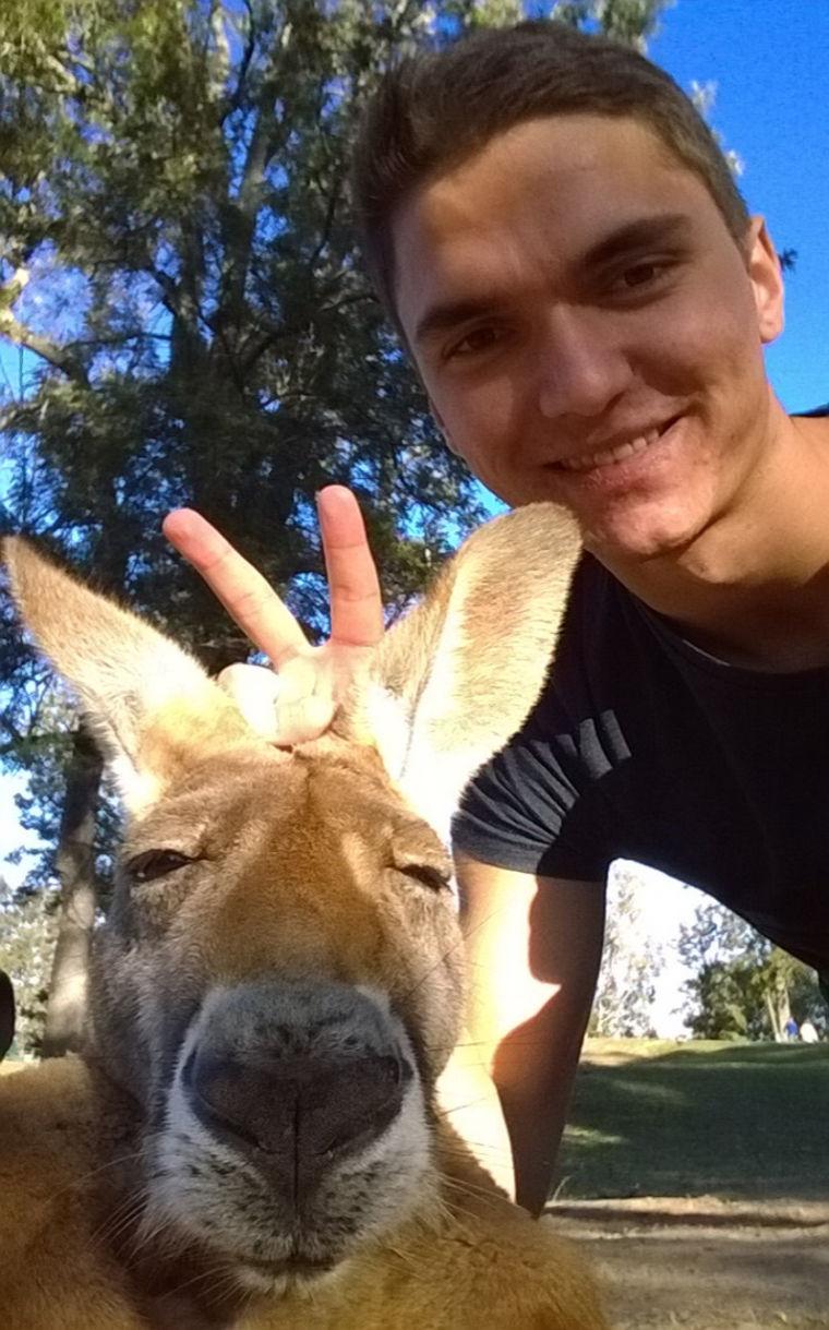 Känguruh Selfie