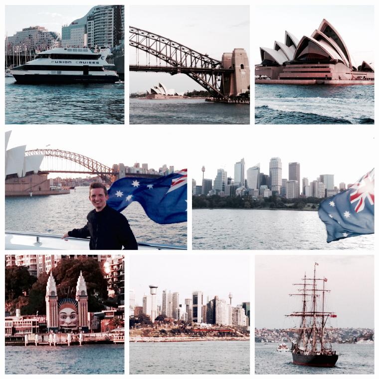 Bilder Collage - Auslandssemester in Australien