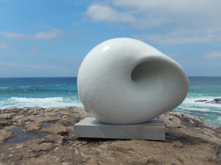 Sculptures by the sea (1) - Auslandssemester Australien