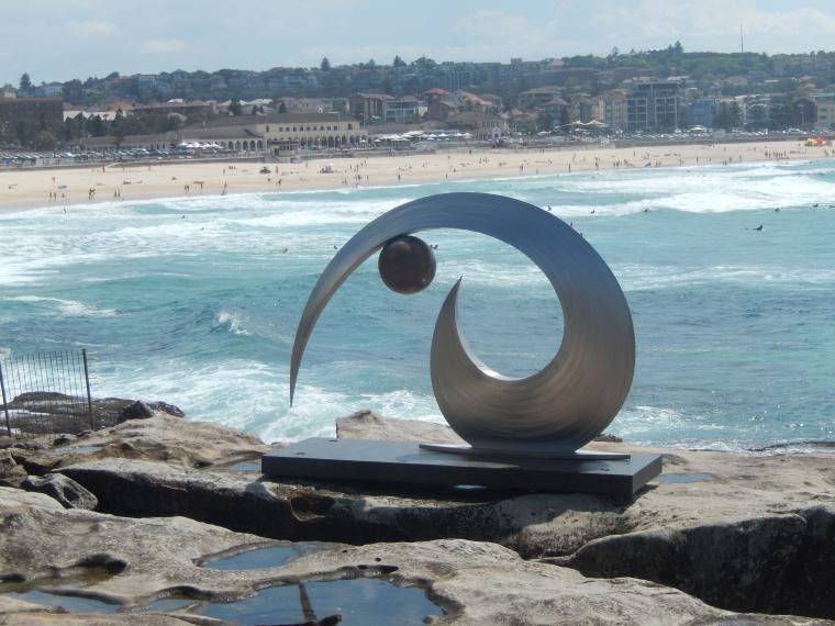Sculptures by the sea (2) - Auslandssemester Australien