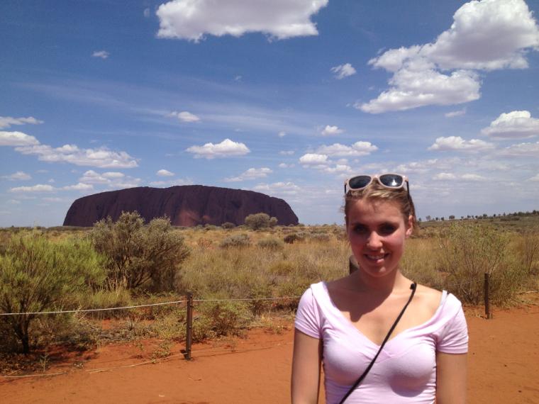 Uluru - Gastsemester Australien