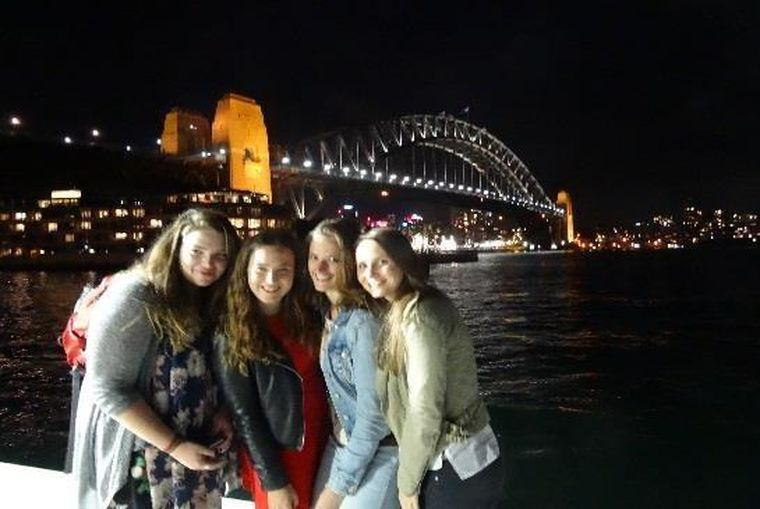 Studenten in Sydney