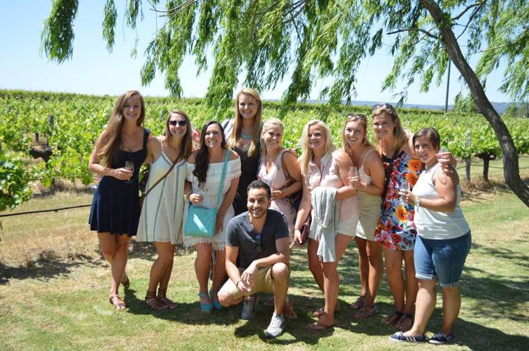 Weingut am Magret River - Auslandssemester Australien